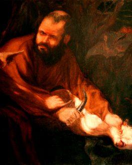 Sacrifice d'Isaac<br>(VENDU)