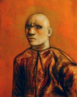 Portrait d'homme<br>(VENDU)<br>Disponible sur commande