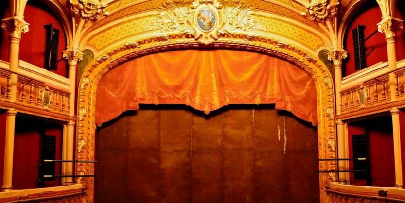 You are currently viewing «Les Noces impromptues de la peinture et du théâtre» par David Rosenberg (Evreux, France)