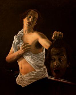 David avec la tête de Goliath