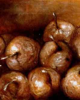 Les Pommes bronzes<br>(VENDU)<br>Disponible sur commande