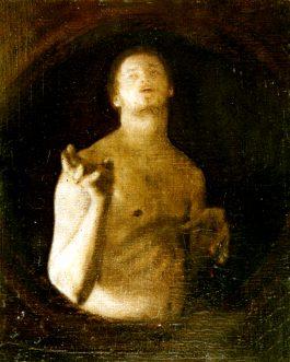 Autoportrait à la main levée