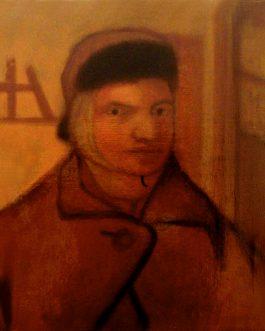 Autoportrait à l'oreille coupée<br>(VENDU)<br>Disponible sur commande